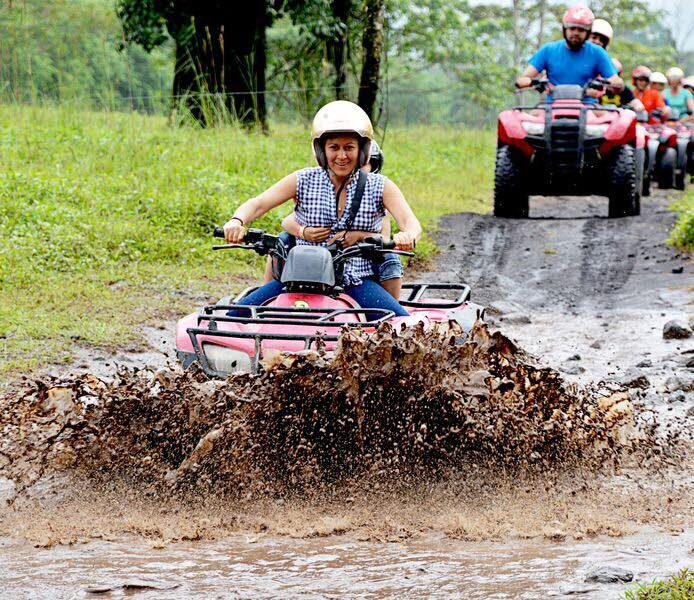 The best ATV tours la fortuna, san carlos, arenal